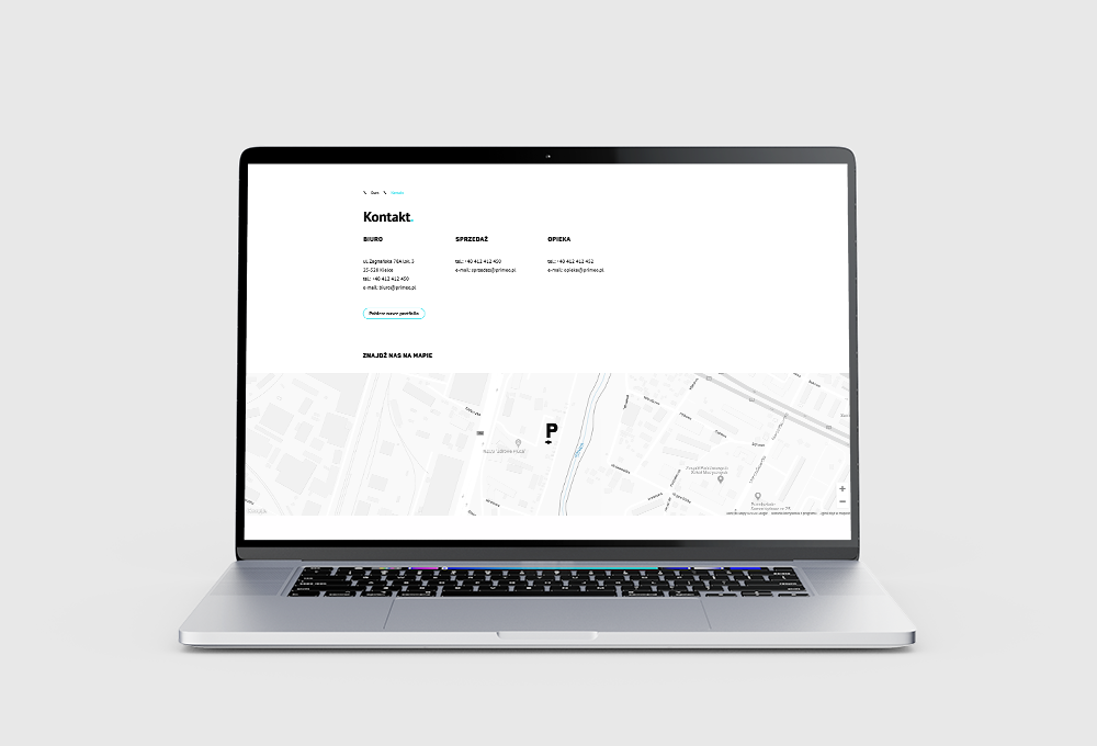 Jak wstawić standardową mapę Google na stronę www?