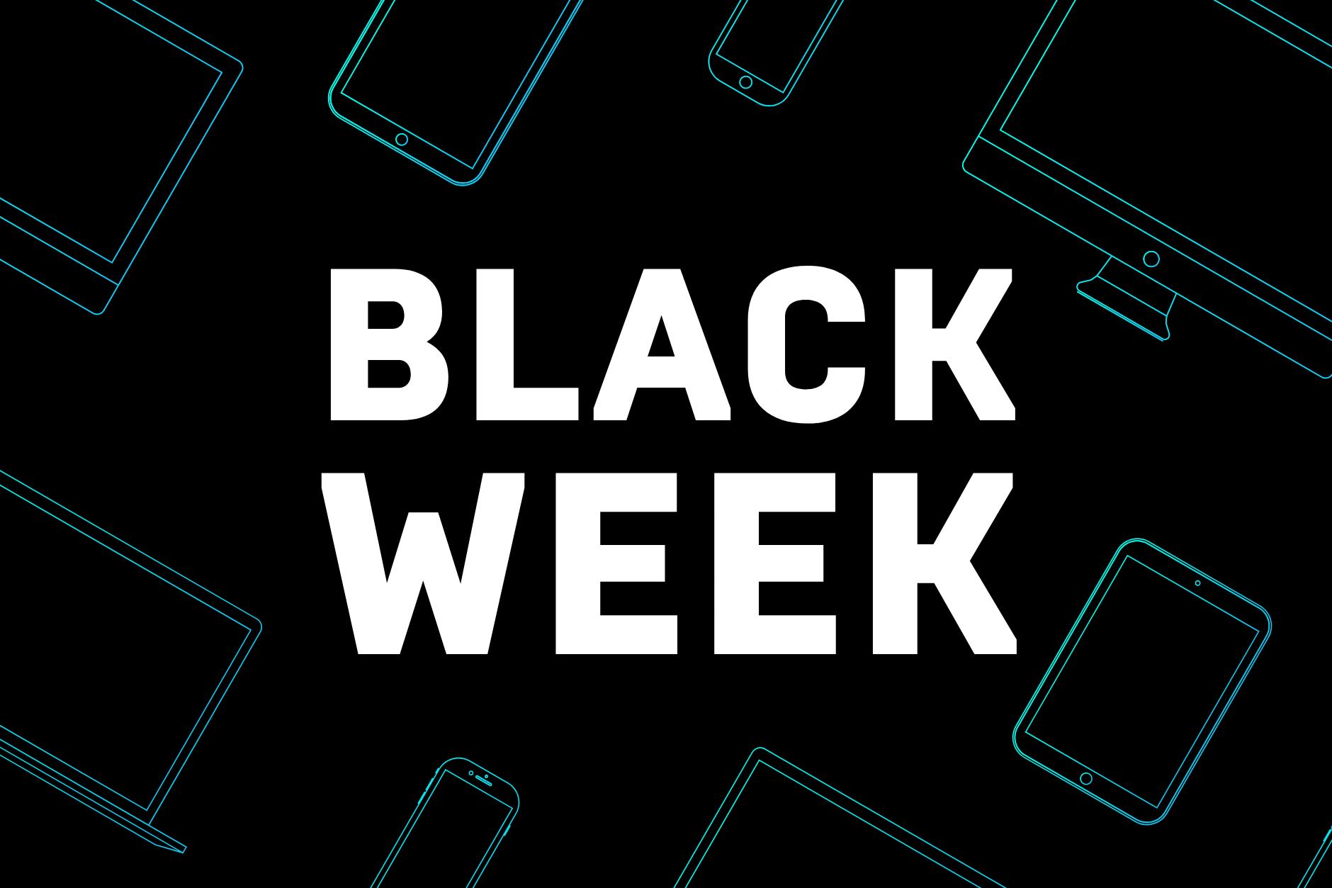 10% i 45% zniżki z okazji Black Week.